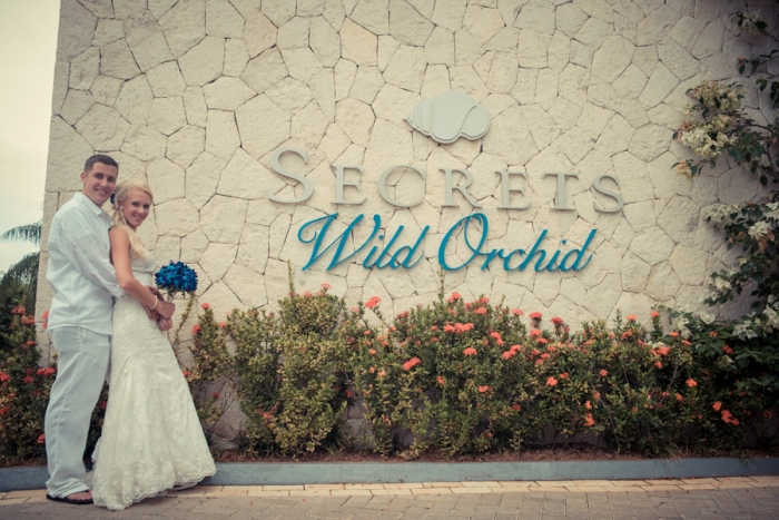 Wedding at Secrets Wild Orchid, Montego Bay Jamaica.
