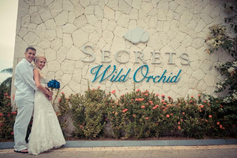Wedding at Secrets Wild Orchid, Montego Bay Jamaica.