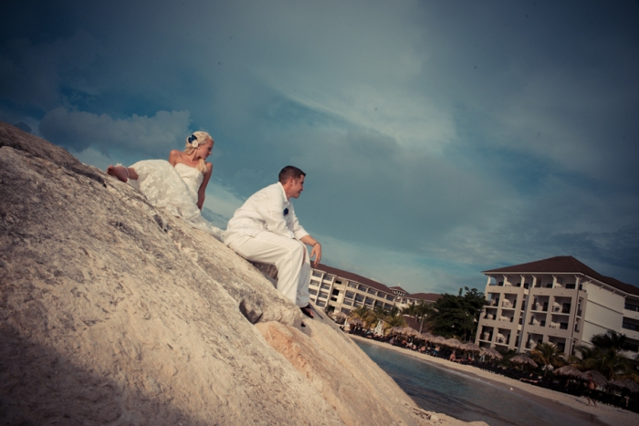 Secrets Wild Orchid, Montego Bay Jamaica wedding photography