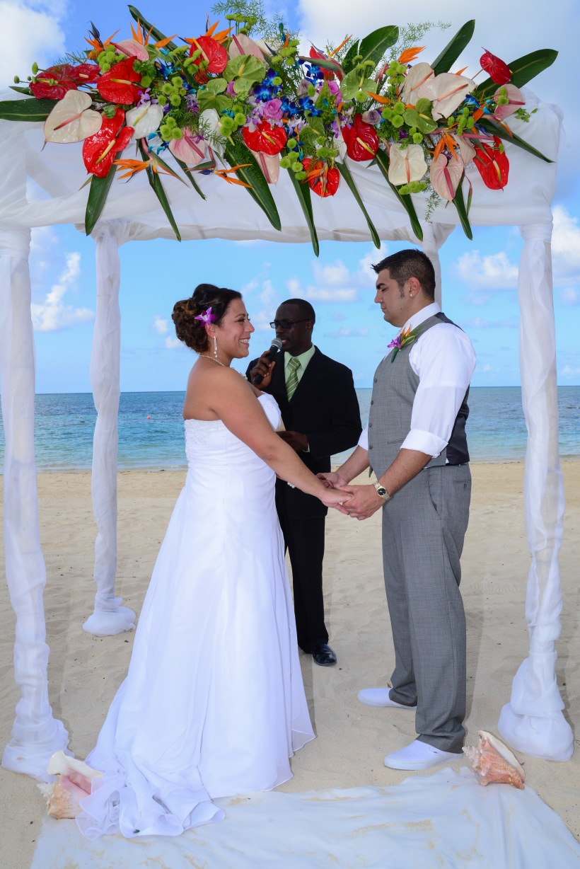 Iberostar Rose Hall Beach HotelJamaican Hotel in Montego Bay perfect for wedding photography