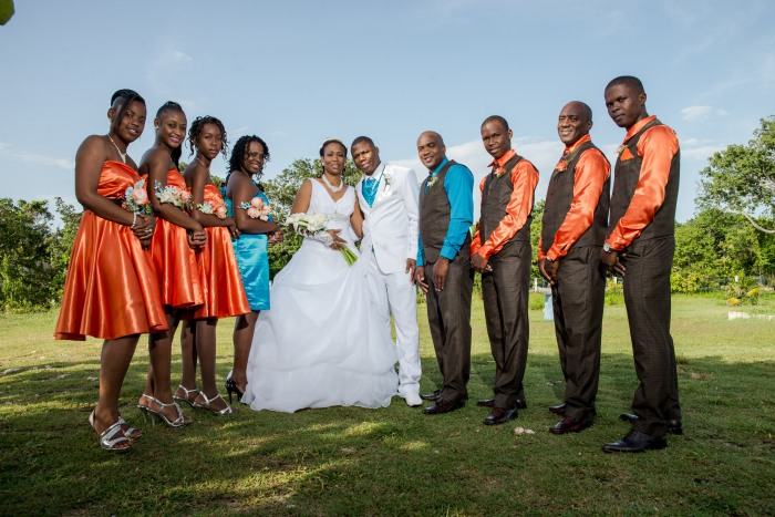 Names of wedding Photographers in Jamaica Richard Brown
