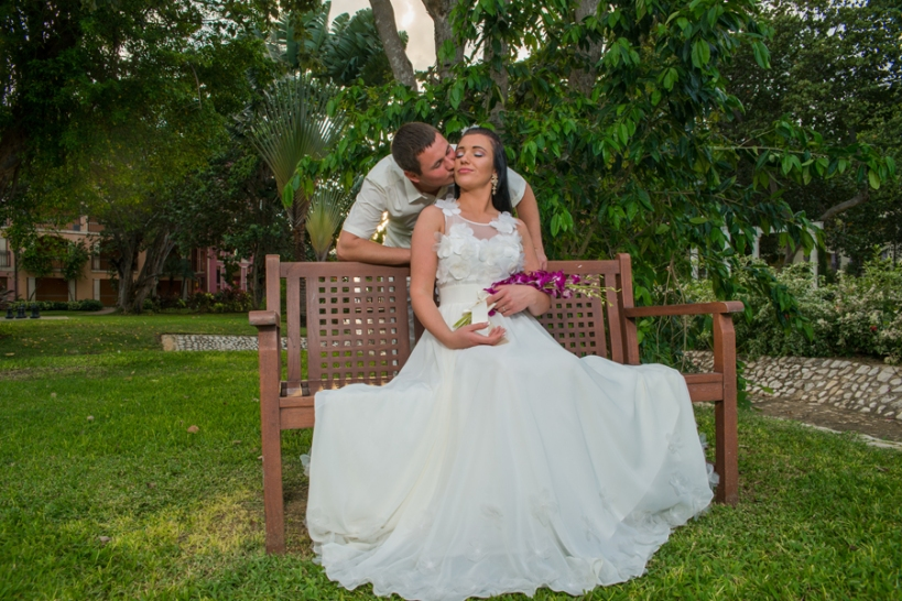 If the venue of your wedding is a place far away from where you live, for instance, Jamaica