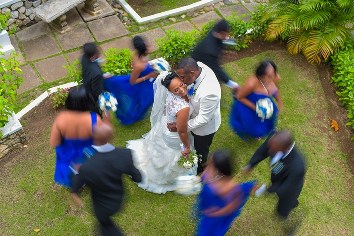 Covering a Jamaican wedding is pure fun with all the interesting traditions and rituals being observed by the families