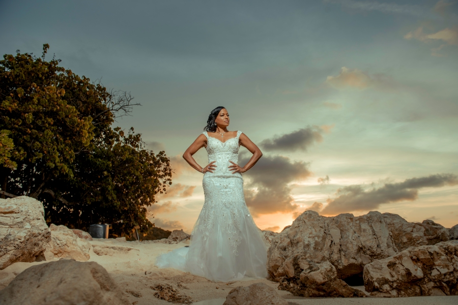 Professional Jamaican wedding photographer